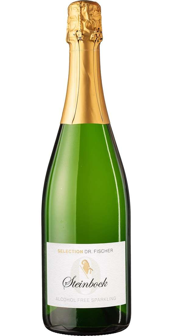 """Alcohol Free Sparkling """"Selection Steinbock"""" Dr. Fischer"""