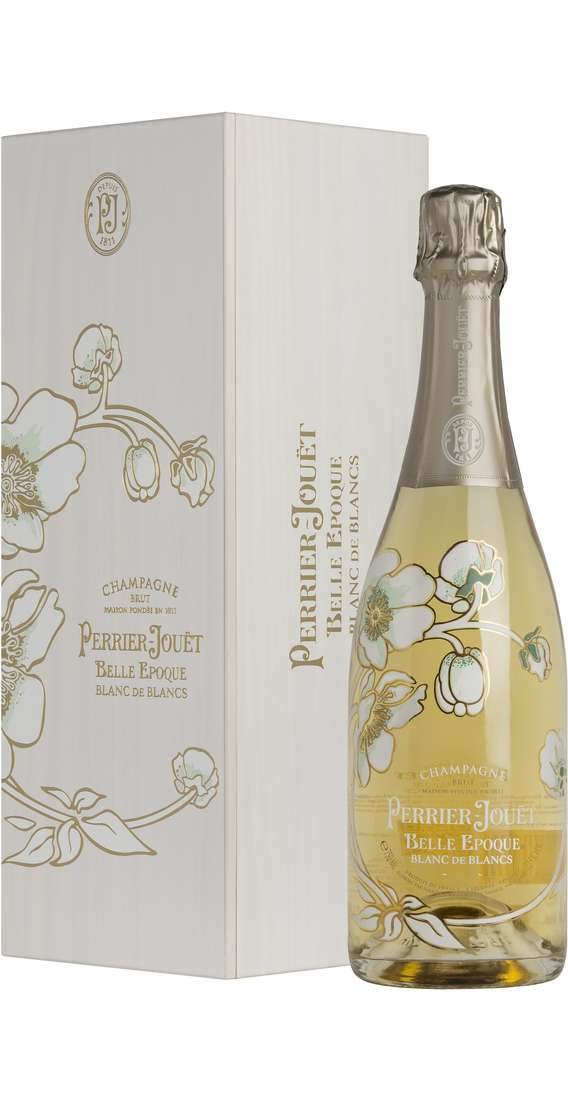 Champagne BELLE EPOQUE BLANC DE BLANCS in Wooden Box