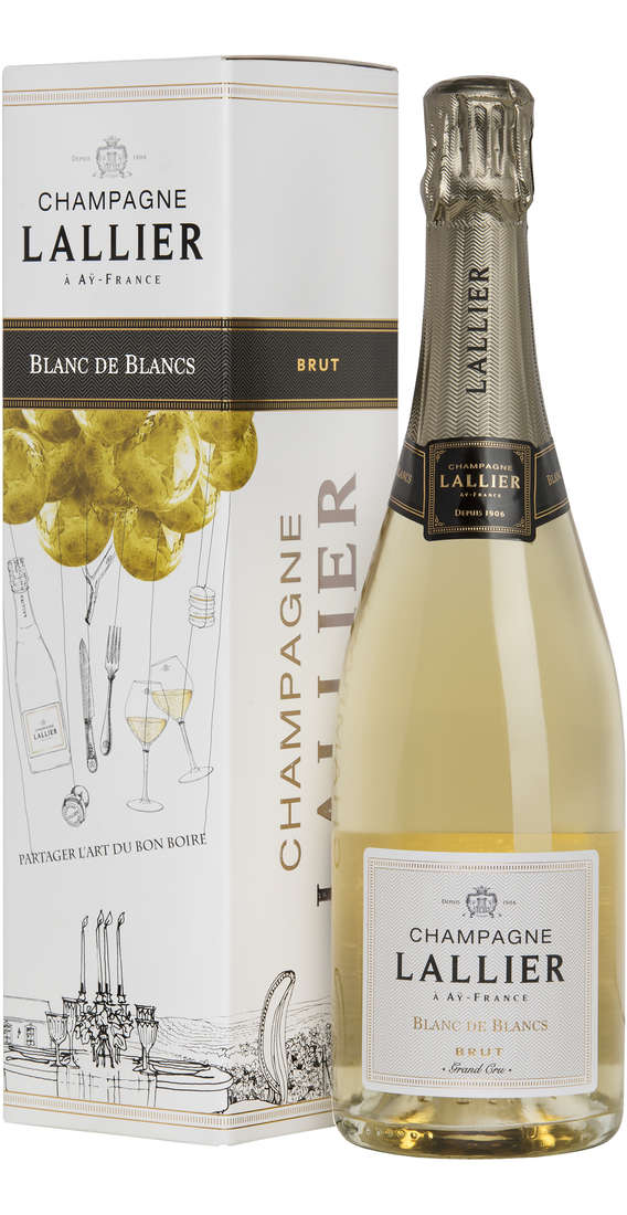 "Champagne Blanc de Blancs ""Grand Cru"" In Box"
