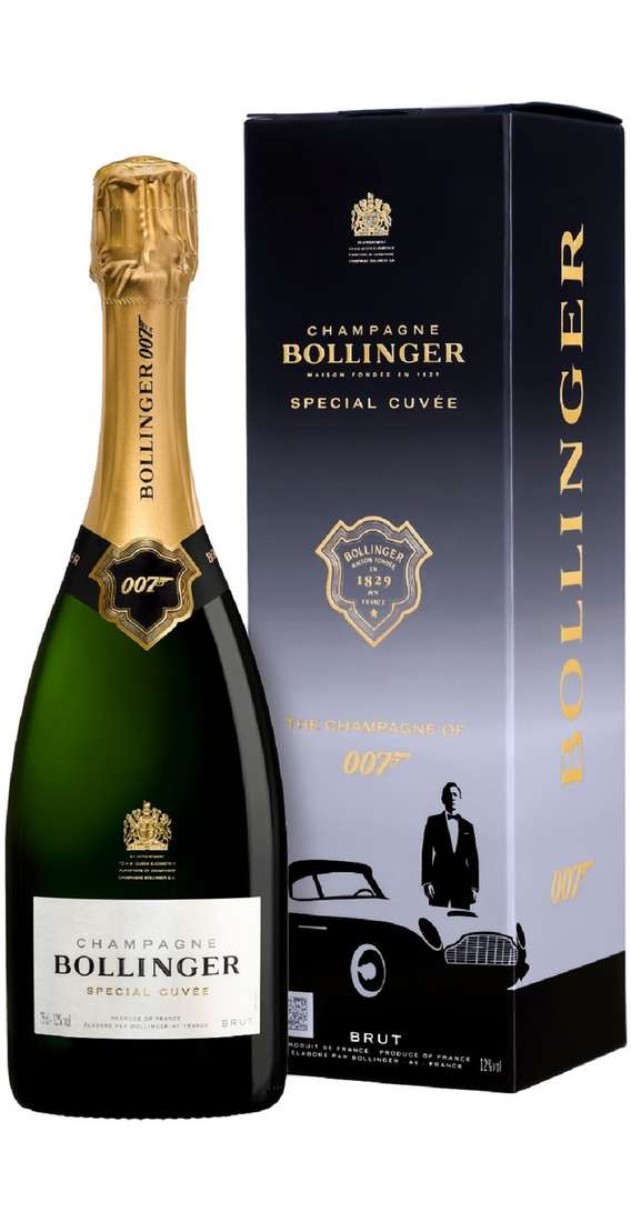 """Champagne Bollinger Special Cuvée """"007"""" in Box"""