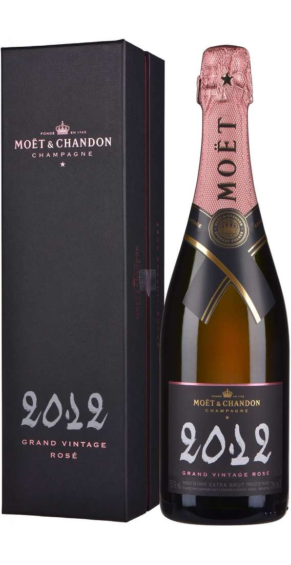 "Champagne Brut ""GRAND VINTAGE ROSE' 2012"" In Box"