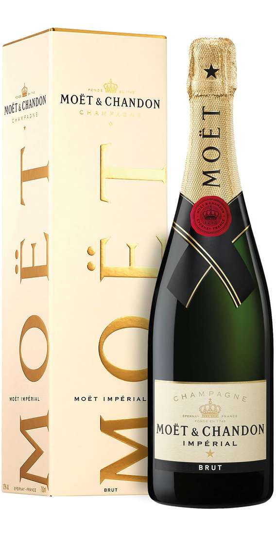 """Champagne Brut """"MOET IMPÉRIAL"""" in Box"""