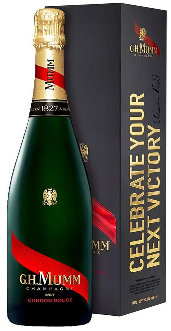 """Champagne Cuvée """"Cordon Rouge"""" in Box"""