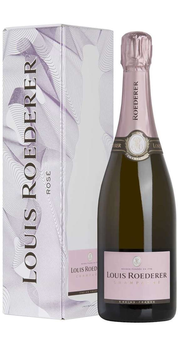 Champagne Rosé Brut Millesimé in Box