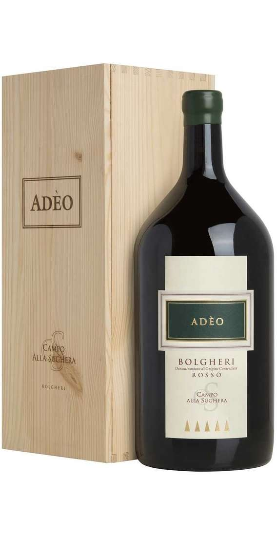 "Double Magnum 3 Liters Bolgheri ""ADÈO"" DOC in Wooden Box"