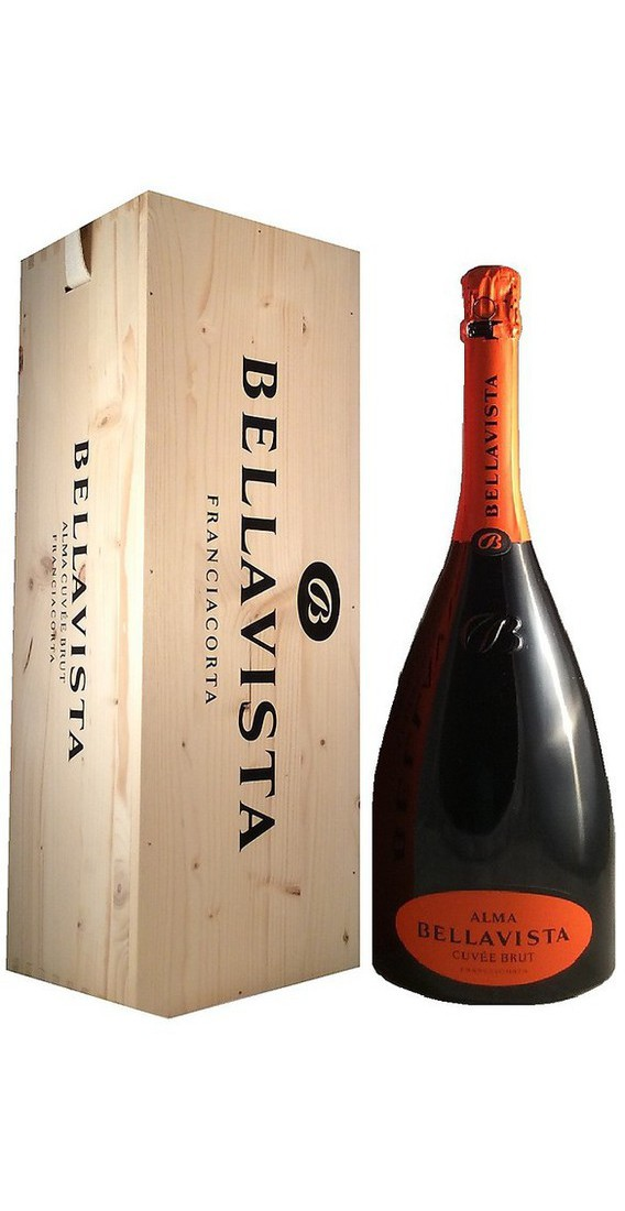 """Double Magnum 3 liters Cuvee """"Jeroboam"""" DOCG in Wooden Box"""
