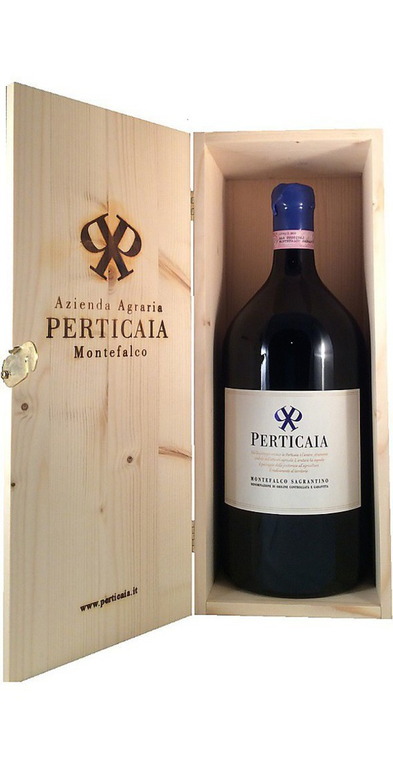 Double Magnum 3 liters Montefalco Sagrantino DOCG in Wooden Box