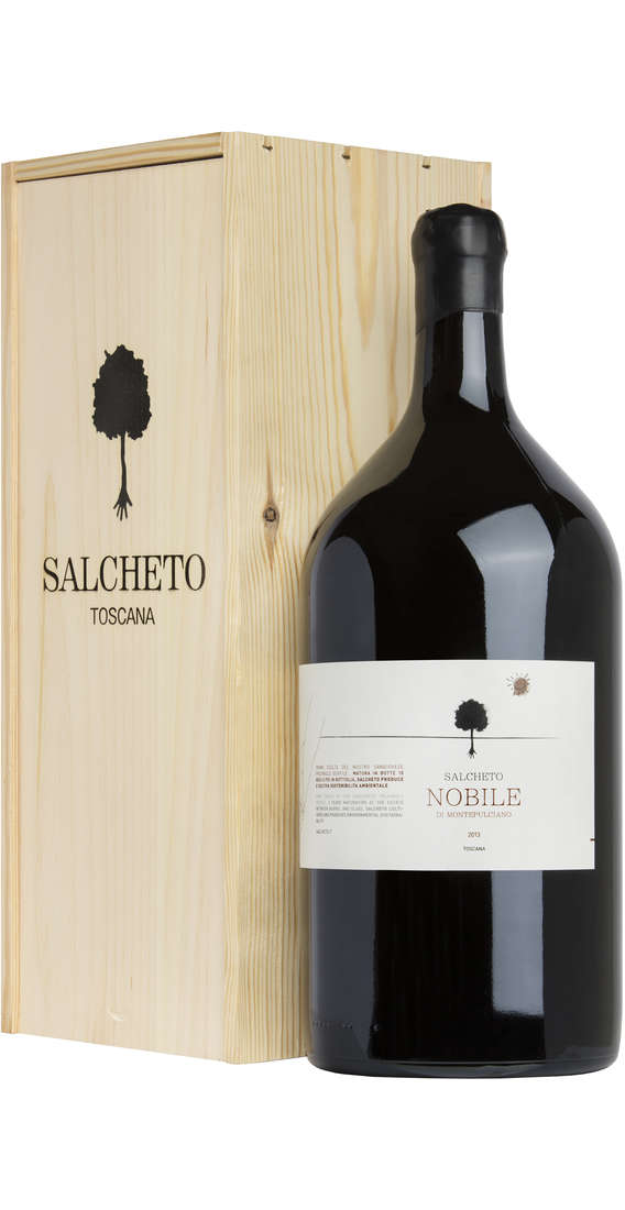 Double Magnum 3 liters Nobile di Montepulciano DOCG in Wooden Box