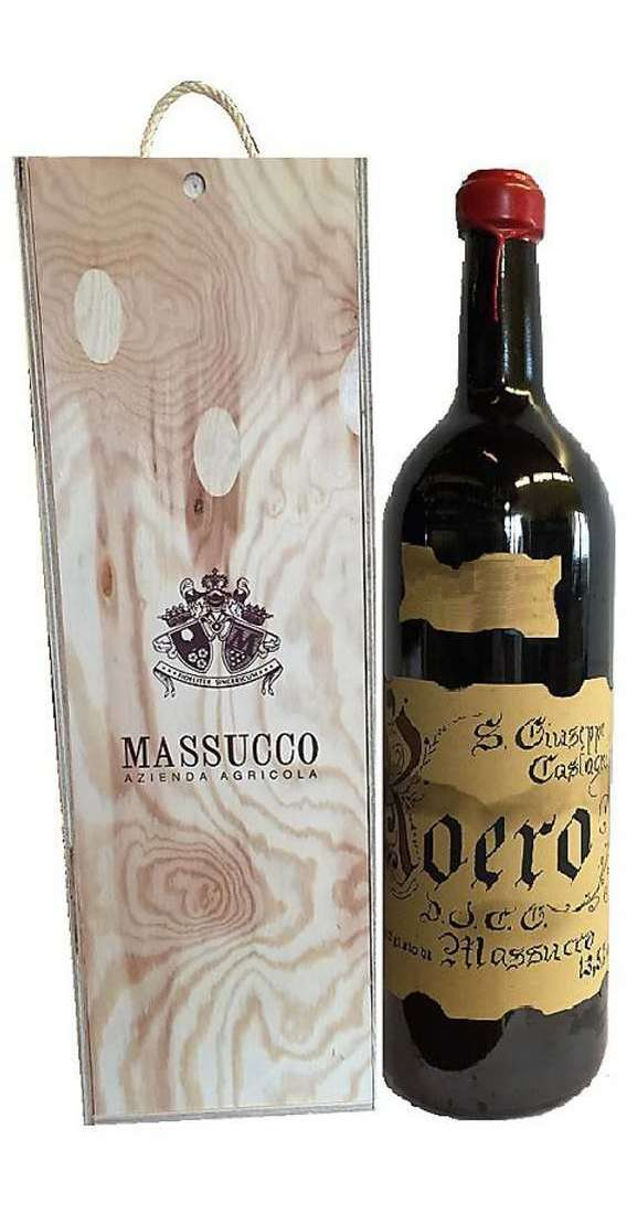 Double Magnum 3 Liters Roero DOCG in Wooden Box