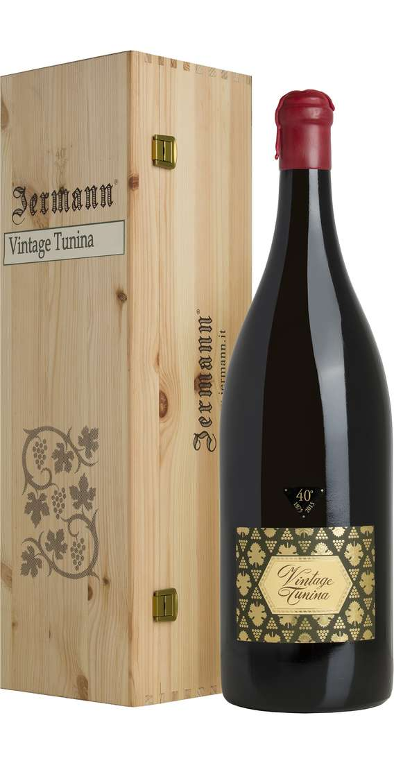 Double Magnum 3 liters Vintage Tunina in Wooden Box