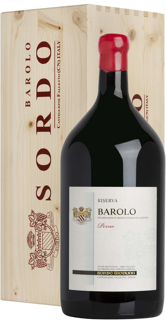 "Double Magnum Barolo RISERVA 2011 ""Perno"" DOCG in Wooden Box"