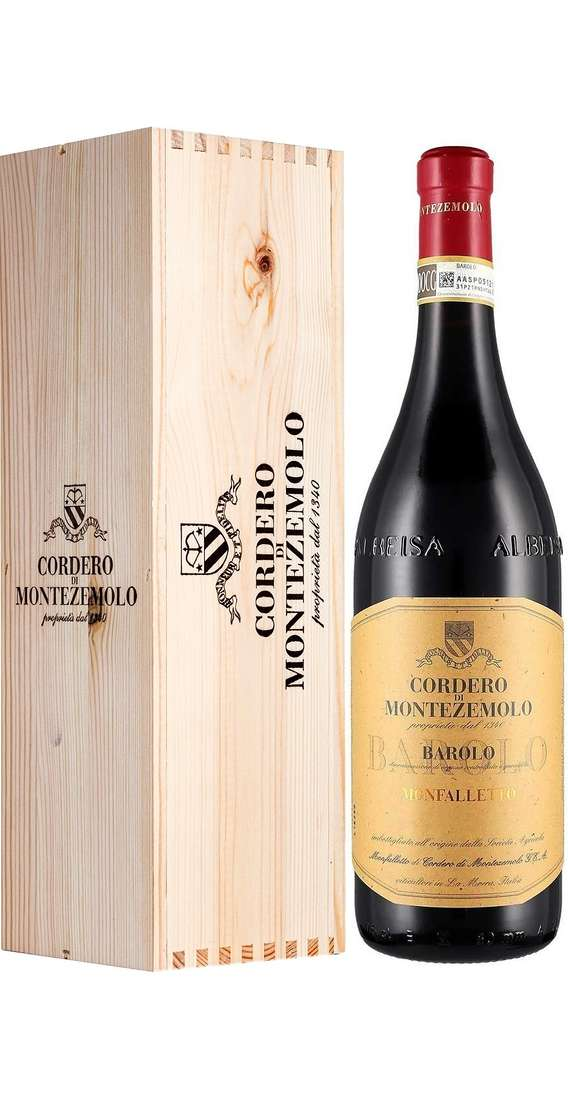 Magnum 1,5 Liters Barolo MONFALLETTO DOCG in Wooden Box