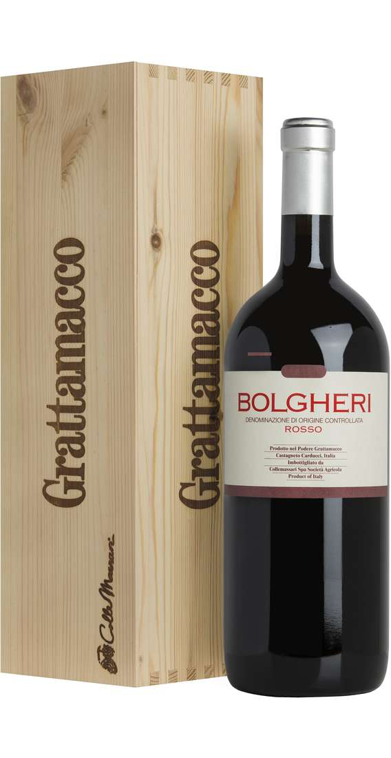 Magnum 1,5 Liters Bolgheri Rosso DOC in Wooden Box