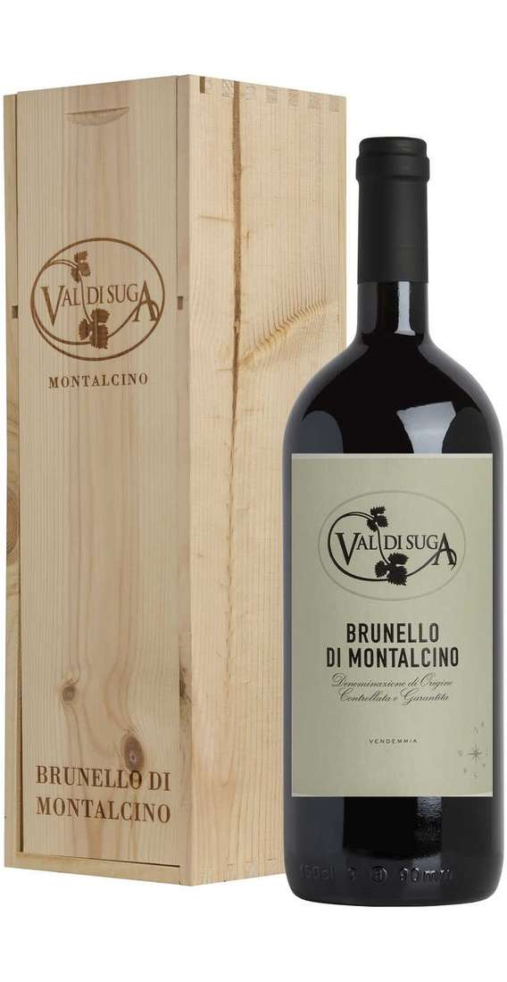 Magnum 1,5 Liters Brunello di Montalcino DOCG in Wooden Box