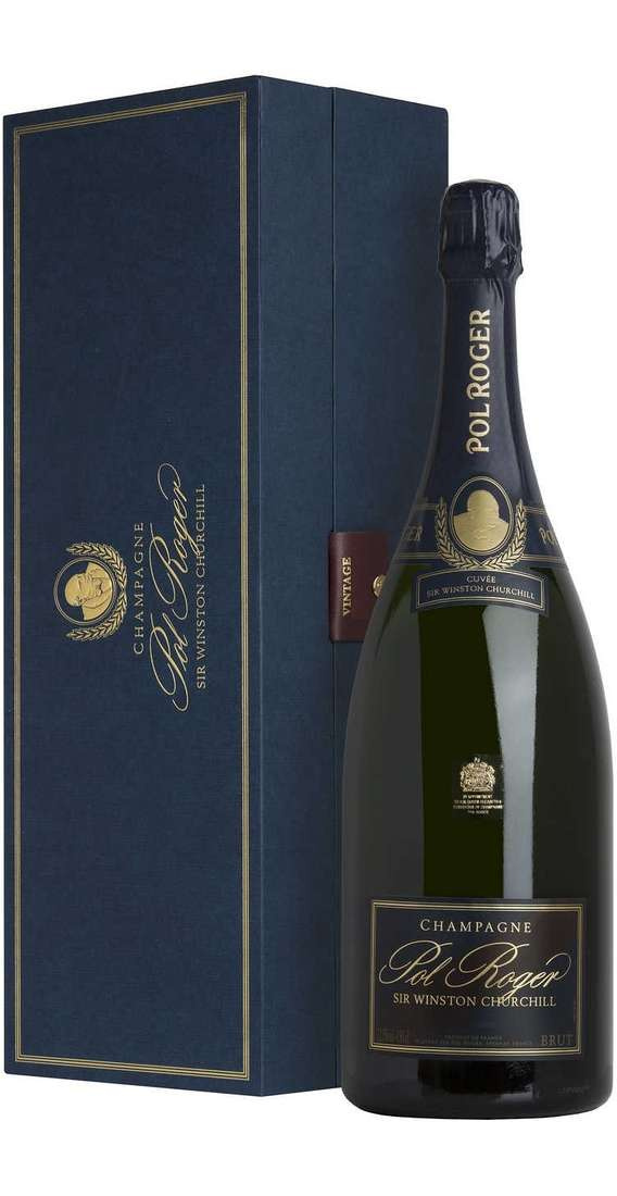 "Magnum 1,5 Liters Champagne Brut 2009 ""SIR WINSTON CHURCHILL"" In Box"
