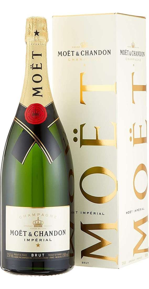 """Magnum 1,5 Liters Champagne """"MOET IMPERIAL"""" in Box"""