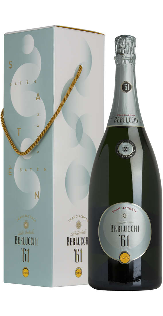 Magnum 1,5 liters Franciacorta Saten '61 DOCG in Box