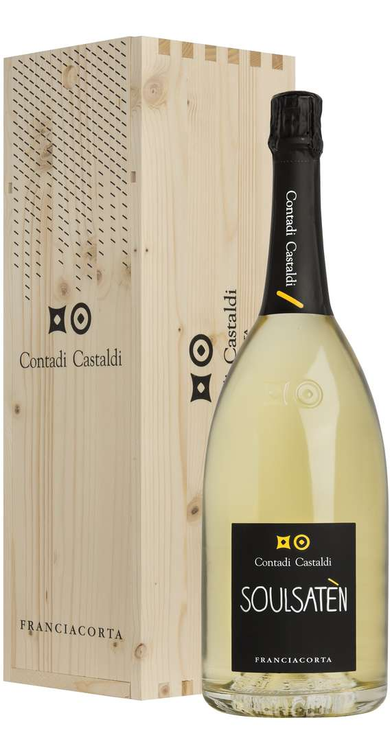 Magnum 1,5 Liters Franciacorta Soul Saten Millesimato DOCG 2011 in Wooden Box