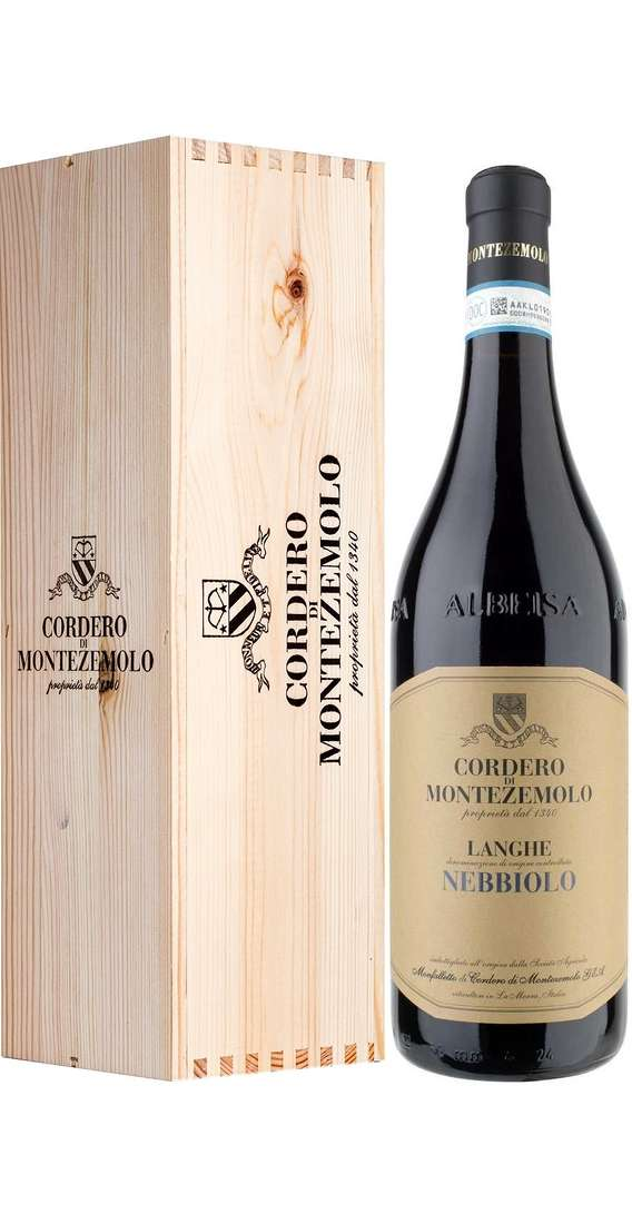 Magnum 1,5 Liters Langhe Nebbiolo DOC in Wooden Box