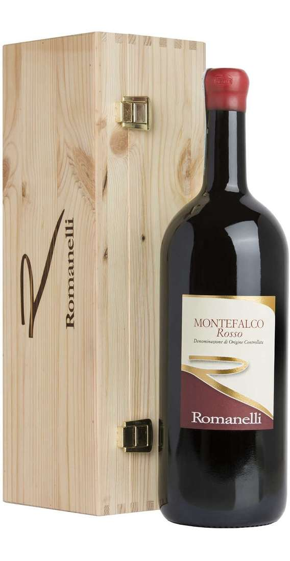 Magnum 1,5 Liters Montefalco Rosso DOC in Wooden Box