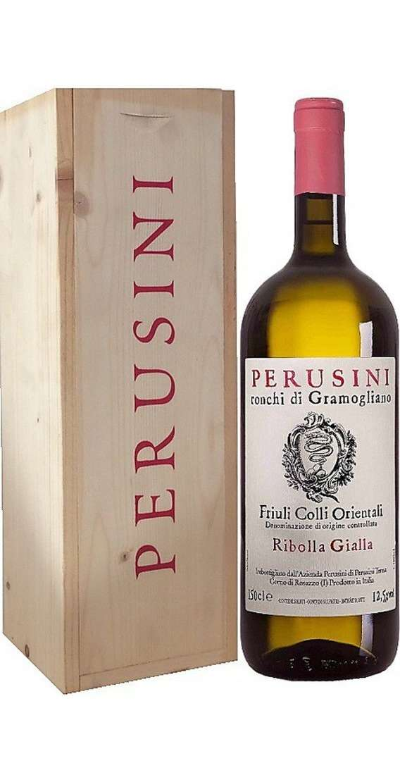 Magnum 1,5 Liters Ribolla Gialla DOC in Wooden Box
