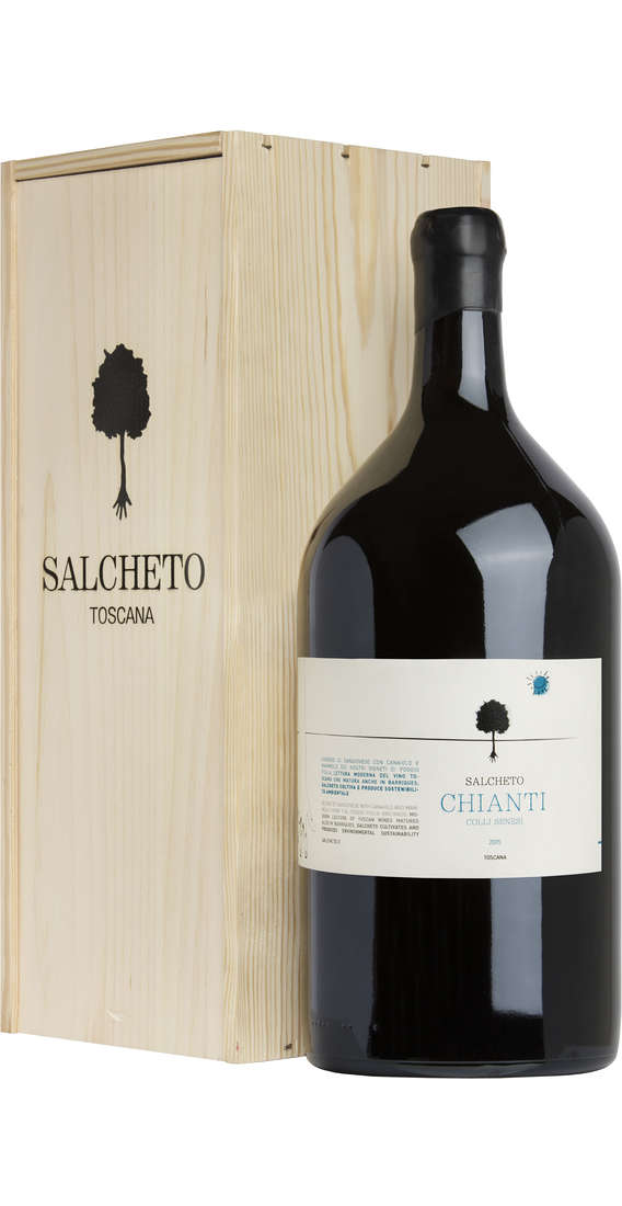 Magnum 3 Litri Chianti Colli Senesi DOCG In Wooden Box