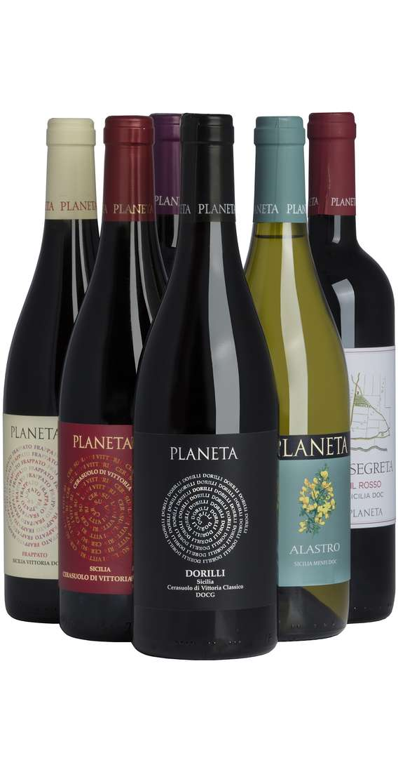Selection 6 Sicilian Wines