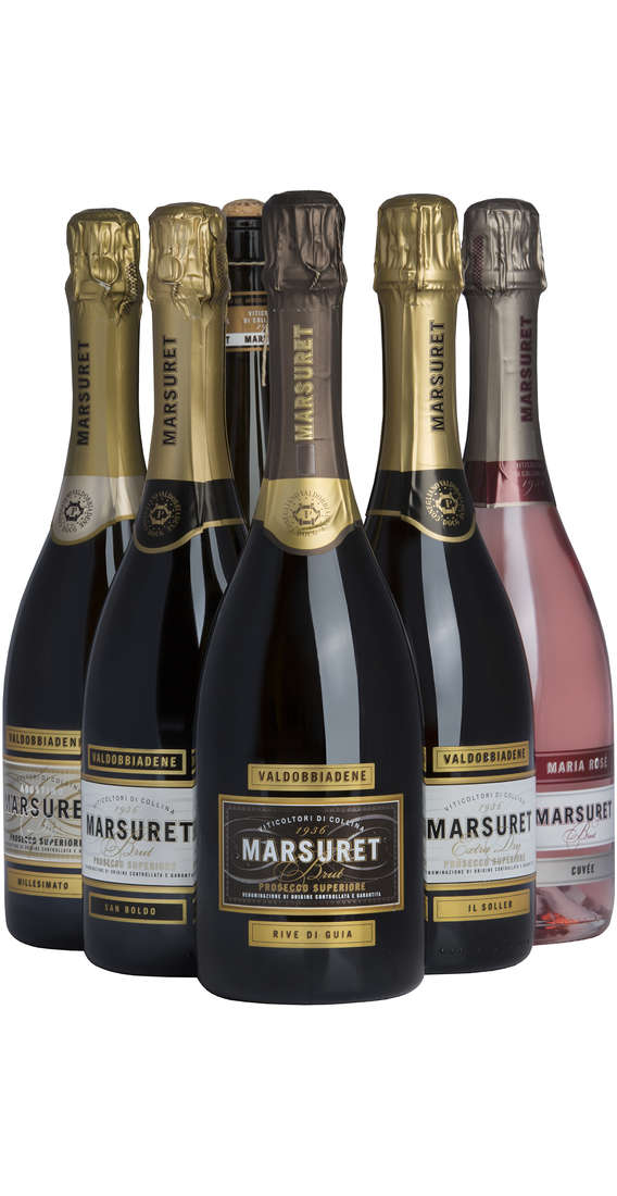 Selection 6 Sparkling Wine