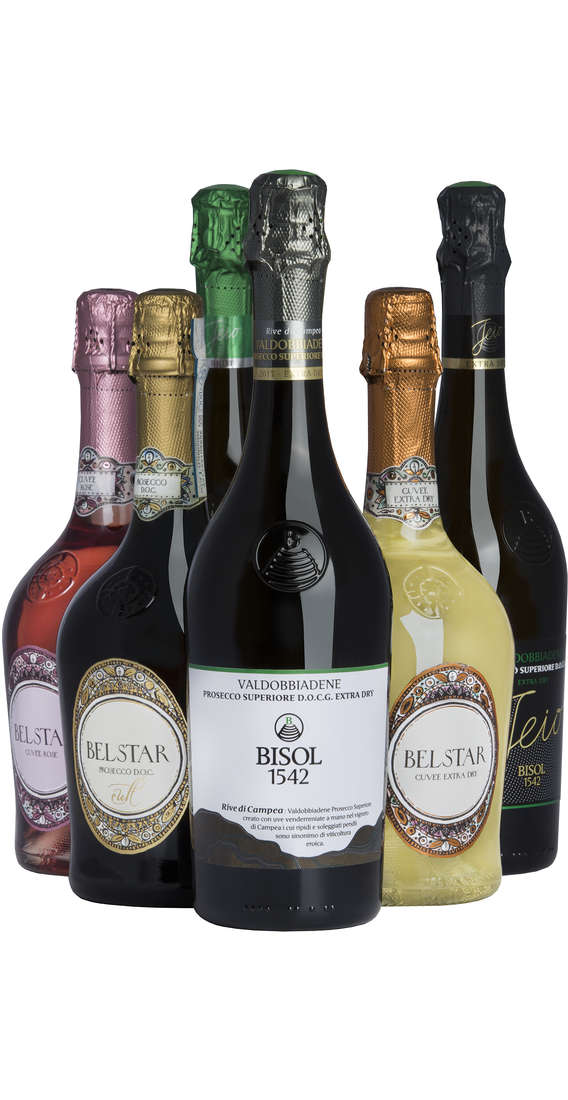 Selection 6 Sparkling Wines