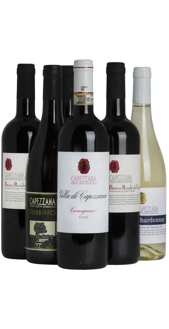 Selection 6 Tuscan Wines